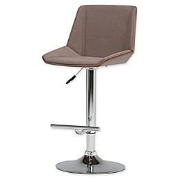Simpli Home™ Upholstered Barstool in Mocha