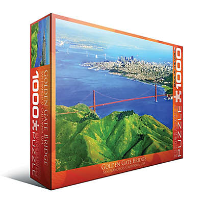 EuroGraphics Golden Gate Bridge, San Francisco, California, USA 1000-Piece Jigsaw Puzzle