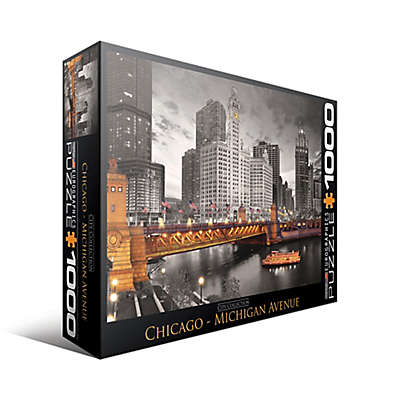 EuroGraphics Chicago Michigan Avenue 1000-Piece Puzzle