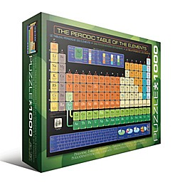 EuroGraphics The Periodic Table of the Elements 1000-Piece Jigsaw Puzzle