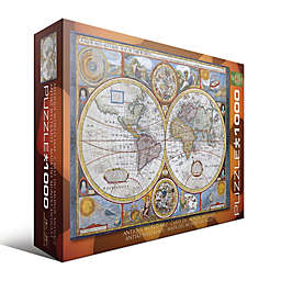 EuroGraphics Antique World Map 1000-Piece Jigsaw Puzzle