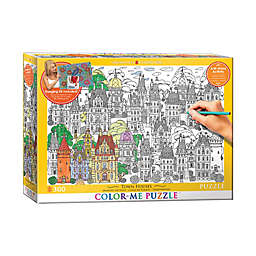 EuroGraphics Color-Me 300-Piece Town Houses Puzzle