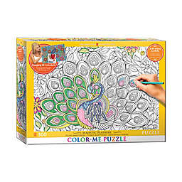 EuroGraphics Color-Me 300-Piece Majestic Feathers Puzzle