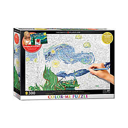 EuroGraphics Color-Me 300-Piece Vincent Van Gogh's Starry Night Puzzle