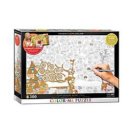 EuroGraphics Color-Me 300-Piece Gustav Klimt's Tree of Life Puzzle