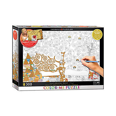 EuroGraphics Color-Me 300-Piece Gustav Klimt's Tree of Life Puzzle