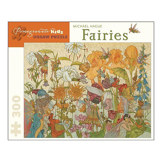 Alternate image 1 for Michael Hague Fairies 300-Piece Jigsaw Puzzle