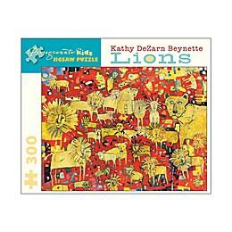 Pomegranate Communications, Inc. Kathy DeZarn Beynette Lions 300-Piece Puzzle
