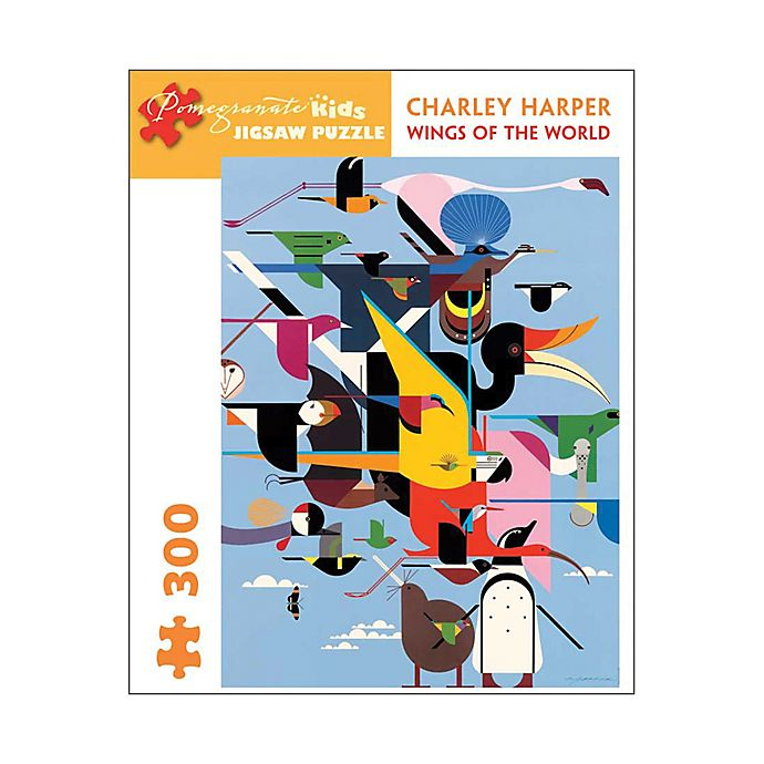 Alternate image 1 for Pomegranate Communications, Inc. Charley Harper Wings of the World 300-Piece Puzzle
