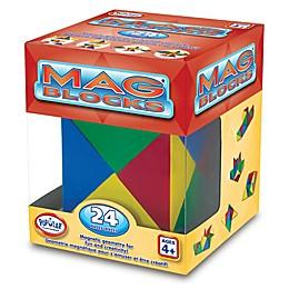 Popular Playthings Mag Blocks 24-Piece Set