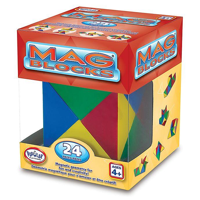 Alternate image 1 for Popular Playthings Mag Blocks 24-Piece Set