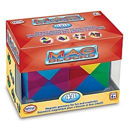 Popular Playthings Mag Blocks 48-Piece Set