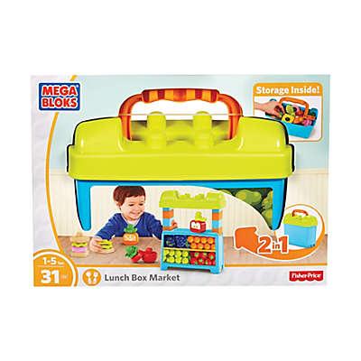 Mega Bloks 31-Piece Fisher-Price Lunch Box Market
