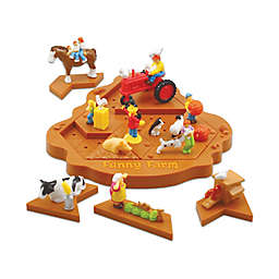 Popular Playthings Funny Farm Brainteaser Puzzle