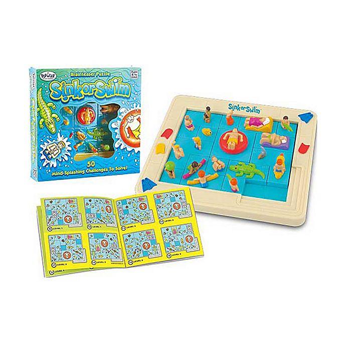 Popular Playthings Sink Or Swim Brainteaser Puzzle Bed