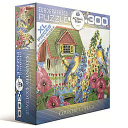 EuroGraphics Janene Grendy Country Cottage 300-Piece Jigsaw Puzzle