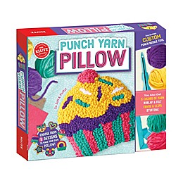 Klutz® Punch Yarn Pillow Arts and Craft Kit