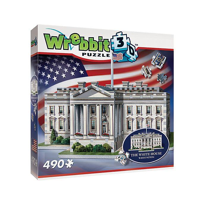 Alternate image 1 for Wrebbit™ 490-Piece White House 3D Puzzle