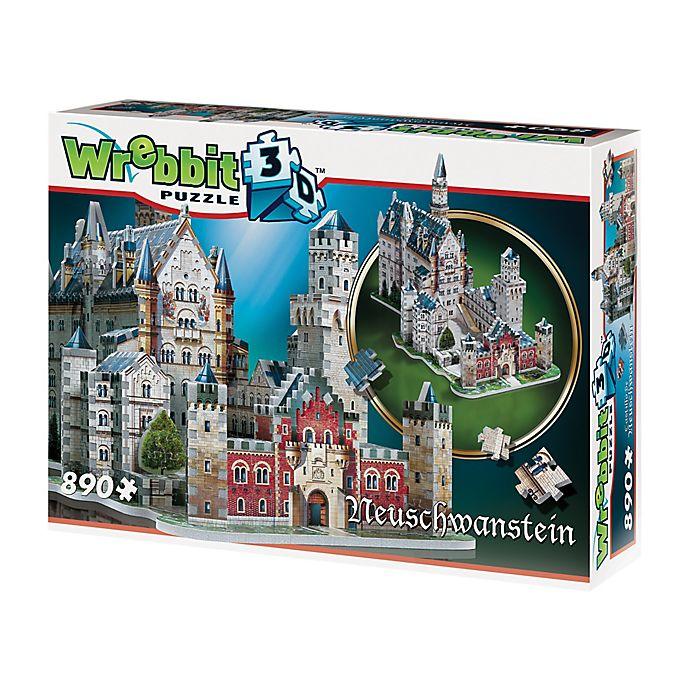 Alternate image 1 for Wrebbit™ 890-Piece Neuschwanstein Castle 3D Puzzle