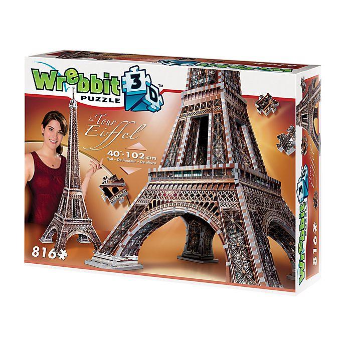 Alternate image 1 for Wrebbit™ 816-Piece Eiffel Tower 3D Puzzle