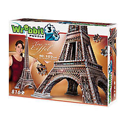 Wrebbit™ 816-Piece Eiffel Tower 3D Puzzle