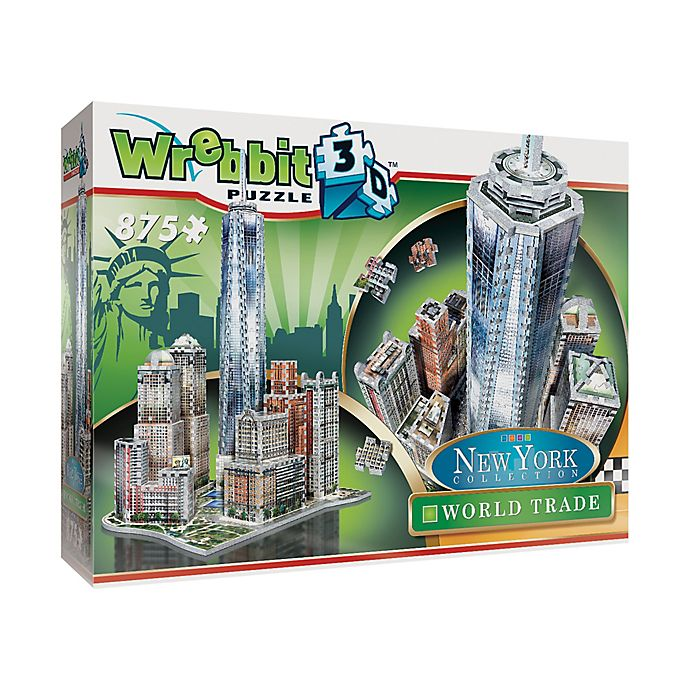 Alternate image 1 for Wrebbit™ New York Collection 875-Piece World Trade 3D Puzzle