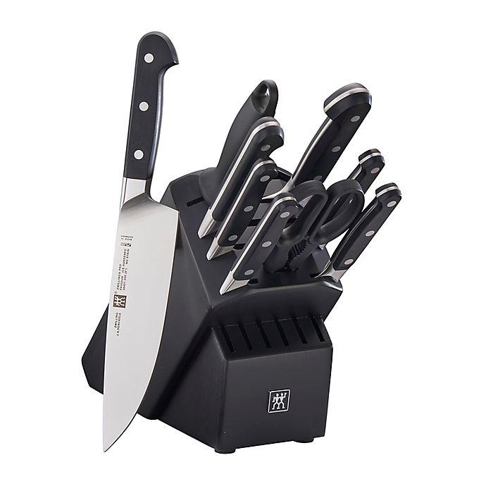 Alternate image 1 for Zwilling® J.A. Henckels Pro Rubberwood Knife Block Set in Black