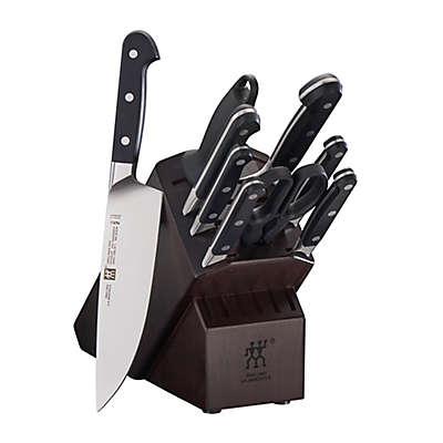 Zwilling® J.A. Henckels Pro Walnut Knife Block Set