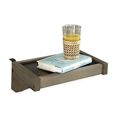 Hillsdale Highlands Hanging Tray Shelf in Driftwood