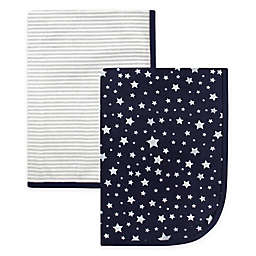 Hudson Baby® 2-Pack Star Swaddle Blankets
