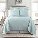 Levtex Home Torrey Reversible King Quilt Set in Blue Haze