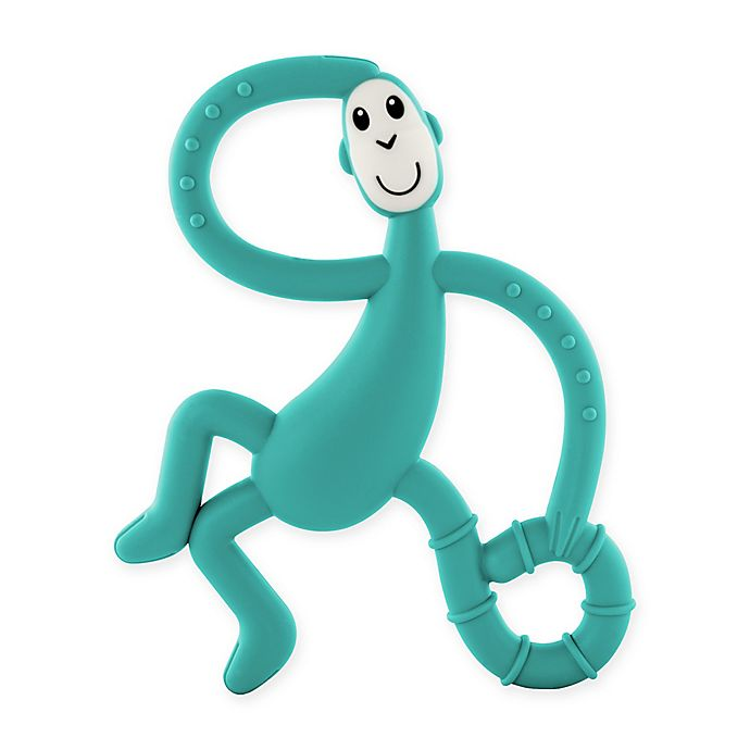Alternate image 1 for Matchstick Monkey™ Dancing Monkey Teether in Teal