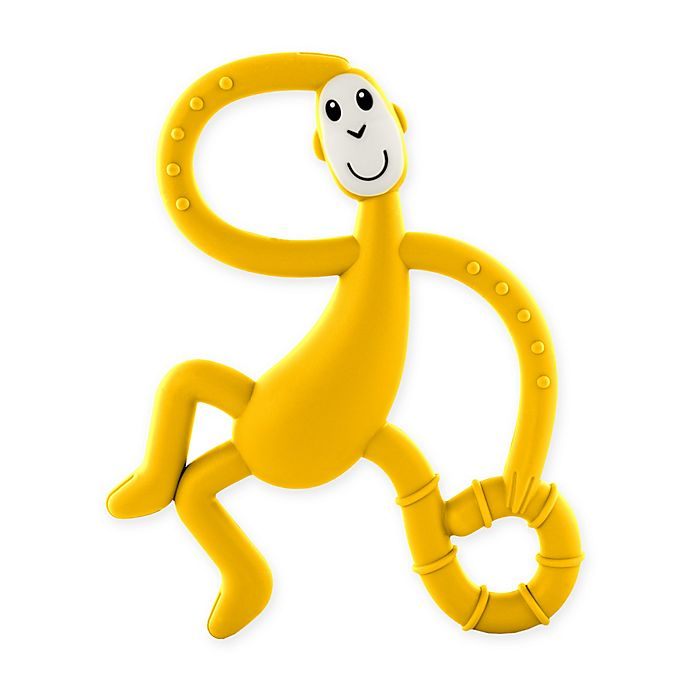 Alternate image 1 for Matchstick Monkey™ Dancing Monkey Teether in Yellow