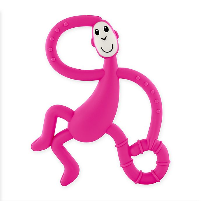 Alternate image 1 for Matchstick Monkey™ Dancing Monkey Teether in Pink