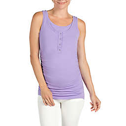 Savi Mom Davie Maternity and Nursing Tank Top in Lilac