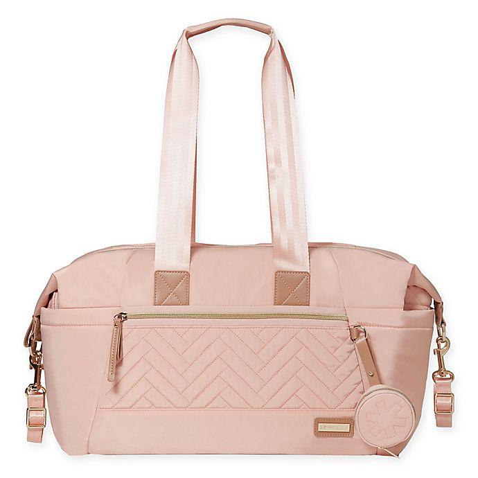 Alternate image 1 for SKIP*HOP® Suite 7-Piece Diaper Bag Set in Blush