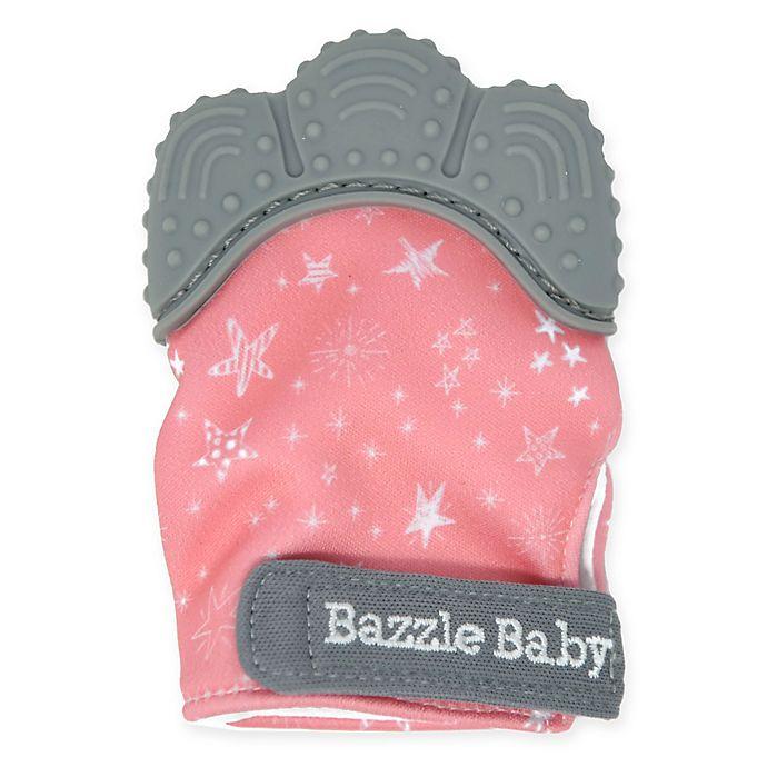 Alternate image 1 for Bazzle Baby Chew Mitt Teething Mitten