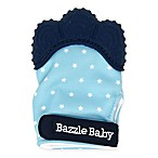 Bazzle Baby Galaxy Chew Mitt in Blue