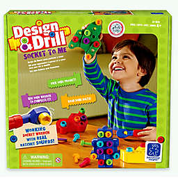 Educational Insights® Design and Drill Socket To Me Set