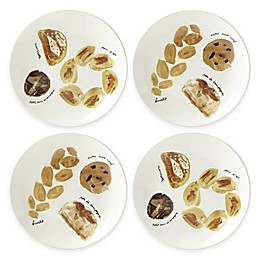 kate spade new york All in Good Taste Freshly Baked™ Bread Accent Plates (Set of 4)