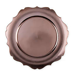 13-Inch Scalloped Charger Plates (Set of 6)