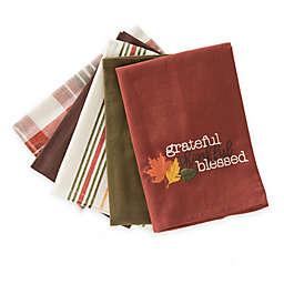 5 Pack Grateful Kitchen Towels