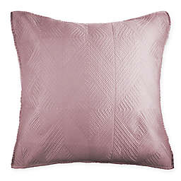Wamsutta® Bliss European Pillow Sham in Mauve