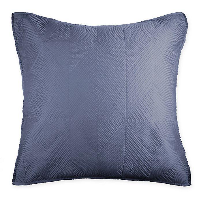 Alternate image 1 for Wamsutta® Bliss European Pillow Sham in Twilight Blue