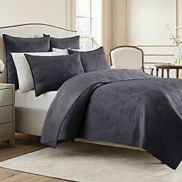Wamsutta® Bliss Twin Coverlet in Midnight