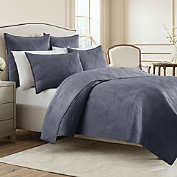Wamsutta® Bliss Twin Coverlet in Twilight Blue