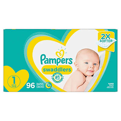 Pampers® Swaddlers™ Super Pack Diapers