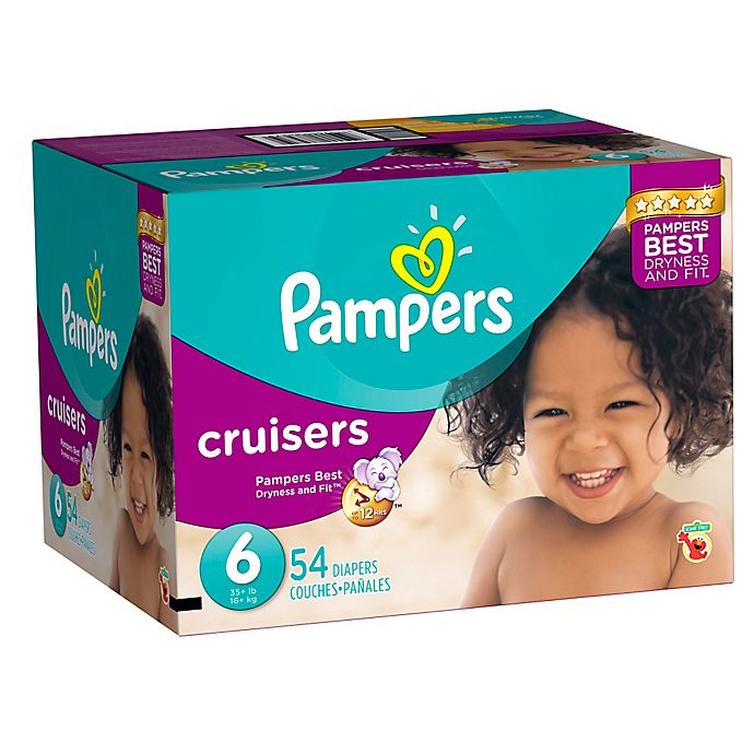 Alternate image 1 for Pampers® Cruisers Super Pack Diapers