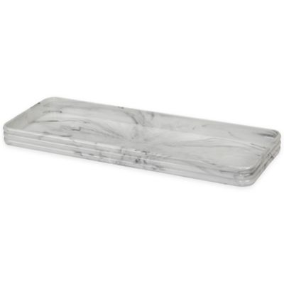 Creative Bath™ Toilet Tank Tray With Bumpers In White by Bed Bath And Beyond