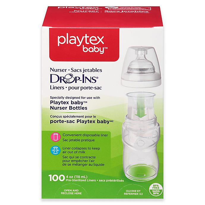 Alternate image 1 for Playtex® 4-Ounce Drop-Ins Disposable Bottle Liners